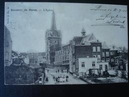HERVE : L'église En  1901 - Herve