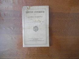 SERVICE INTERIEUR DE LA GENDARMERIE DEPARTEMENTALE 1928 N°40 - Police & Gendarmerie