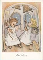Buon Anno. Due Angeli Che Suonano Le Campane - Angeli