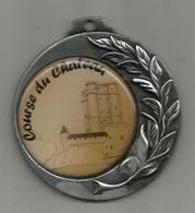Médaille , SPORTS ,athlétisme , COURSE DU CHATEAU , Dia. 7 Cms , Hauteur 8 Cms , 67 Gr. , Frais Fr 2.85 E - Athletics