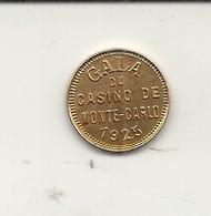 MONTE CARLO . GALA DU CASINO . 1925 . BAL DU JARDIN MERVEILLEUX - Casino