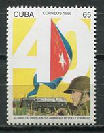 Cuba 1996 / Revolutionary Armed Forces MNH Fuerzas Armadas Revolucionarias / Cu8617  C3 - Militaria