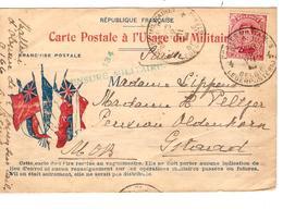 Guerre-Oorlog 14-18 TP 138 S/CP Française Usage Militaire C.PMB-BLP 10/7/? Année Barrée Censures V.Gstaad JS288 - Oorlog 14-18