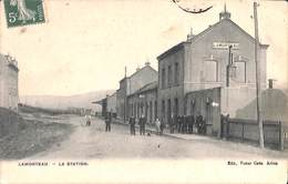 Lamorteau - La Station (belle Animation, Edit. Victor Caën, 1909) - Rouvroy