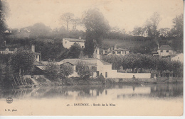 PAYS BASQUE -  BAYONNE - Les Bords De La Nive  PRIX FIXE - Bayonne