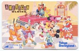 1852 - Tokio Disneyland Japan Comic Telefonkarte - Disney