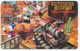 1853 - Tokio Disneyland Japan Comic Telefonkarte - Disney