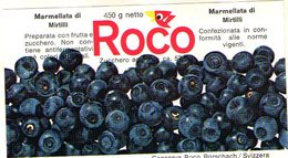 B 1878- Etichetta, Roco, Svizzera - Frutta E Verdura