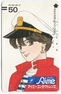 1857 - Seltene Manga / Anime Japan Balken-Telefonkarte - Comics