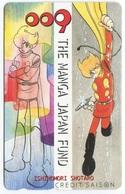 1859 - Seltene Manga / Anime Japan Telefonkarte - Comics