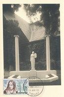 D34244 CARTE MAXIMUM CARD FD 1959 FRANCE - POET MARCELINE DESBORDES CP PHOTOCARD - Cartes-Maximum