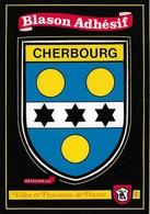 50 Carte Blason Adhésif Kroma Cherbourg (2 Scans) - Cherbourg