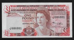 Gibraltar -  1 Pound - Pick N°20a - NEUF - Gibraltar