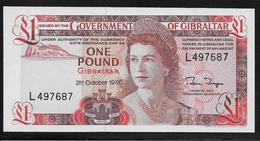 Gibraltar -  1 Pound - Pick N°20d - NEUF - Gibraltar