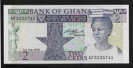 Ghana -  2 Cedis - Pick N°18a - NEUF - Ghana