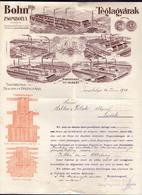 HUNGARY - MAGYARORS. - ZSOMBOLYA - NAGYKIKINDA - BOHN Fele - Letter With Memo - 1920 - Blotters