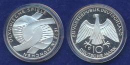 BRD 10 DM 1970D Olympische Spiele 1972 2. Ausg. PP  Ag625 - [ 7] 1949-…: BRD