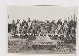Degiacc Ajaleu Burru' Governatore Dell'Uogherà Con Alcuni Capi In Abito Da Gala, Etiopia - F.G. - Anni 1934-1935 - Ethiopia