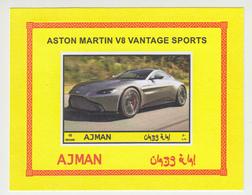 Cars Ajman **, Imperforated Set Of 8 - Autos