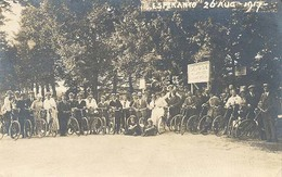 Zeist, Woudenbergseweg, Esperantisten Bij Café 'De Krakeling' (originele Fotokaart 1917) 2 X Scan (Krakelingweg) - Zeist