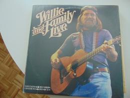 Willie Nelson & Family- Live (2 LP) - Country En Folk