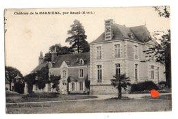 39625-ZE-49-Château De La HARNIERE,par Baugé - Altri Comuni
