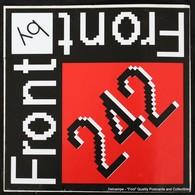 Sticker Autocollant FRONT 242 - Musique & Instruments