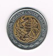 &  MEXICO  5 PESOS 1998 - Mexique