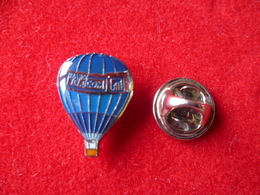 PIN'S MONTGOLFIERE  FRANCE TELECOM - Airships