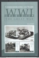 B001 2014 GRENADINES OF ST. VINCENT HISTORY WW1 THE GREAT WAR 1BL MNH - 1. Weltkrieg