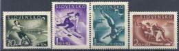 1944 SLOVAQUIE 108-11** Football, Ski, Plongeon - Ongebruikt