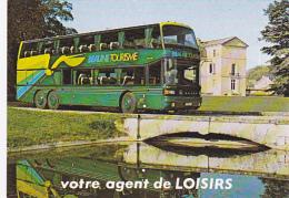 """Autocars GIRARDOT (Chalon Sur Saône, 71) - Un K Setra à étage """"Beaune (21) Tourisme"""" - Pas Circulé - Buses & Coaches"""
