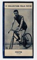 2e Collection Felix Potin - Ca 1920 - REAL PHOTO - Protin, Cyclisme (cycling) - Félix Potin