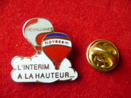 PIN'S MONTGOLFIERE   INTERIM - Airships