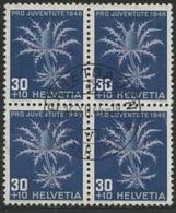 1868 - 30 Rp. Alpenmannstreu - Zentrumstempel ENNETBADEN (AARGAU) 16.XII.46 - Pro Juventute