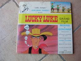 """33 Tours 25 Cm - LUCKY LUKE """" LUCKY LUKE """" - ADES 344 - Illustration: MORRIS / GOSCINNY - Kinderen"""