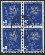 1871 - 40 Rp. Prachtnelke - Zentrumstempel LUZERN 20.XII.49 - Gebraucht