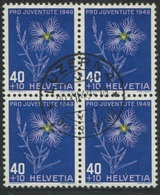1871 - 40 Rp. Prachtnelke - Zentrumstempel LUZERN 20.XII.49 - Oblitérés