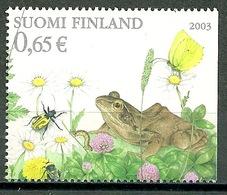 Finland - Mi.Nr. 1660** Frog [2003] - Ranas