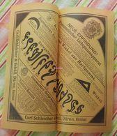 Papier Carl Schleicher Und Schüll, Düren Rheinland - Pneumatischer Lichtpauseapparat - Kurven Und Winkel Aus Hartgummi - Stamperia & Cartoleria