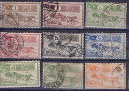 ROUMANIE ! SÉRIE COMPLETE De Timbres Anciens De 1903 N°137 à 144 - Other