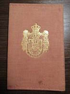 Royal Yugoslav Railway ID Legitimation Permit To Travel - Europe