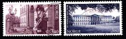 Norvège 1998  Mi.Nr: 1295-1296  Schloss Oslo  Oblitèré / Used / Gebruikt - Usados