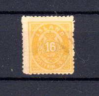 1873   Islande 1873, Valeur En Skilling, N° 5*, (dent 12,50), Cote 120 €, - Neufs