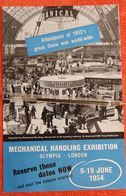 Mechanical Handling Exhibition, Olympia London 1954 - Royaume-Uni