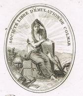 Colmar An XI – 03.01.1803 Société Libre D'émulation Héraldique - Documentos Históricos