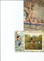 LOT 5 CARTES ( Femmes) - Postcards