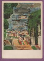 Raoul Dufy (1877 - 1953) - La Terrasse De Saint-Cloud - Pintura & Cuadros