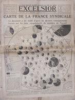 EXCELSIOR (3 Mai 1919) La France Syndicale - La Paix - Fortifications Clignancourt - Altri