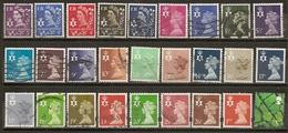 Grande-Bretagne Great Britain Timbres Regionaux Regional Stamps Irlande Du Nord North Ireland Obl - Noord-Ierland